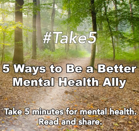 AMHC Metal Health Ally Take 5